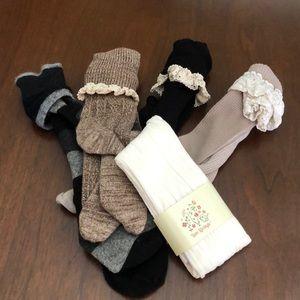 Boot sock bundle of 5 (1 NWT)